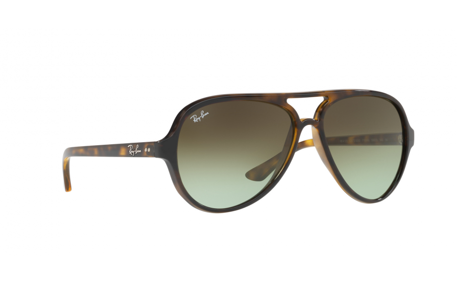3e2a56ab516 Ray-Ban Cats 5000 RB4125 710 A6 59 Prescription Sunglasses