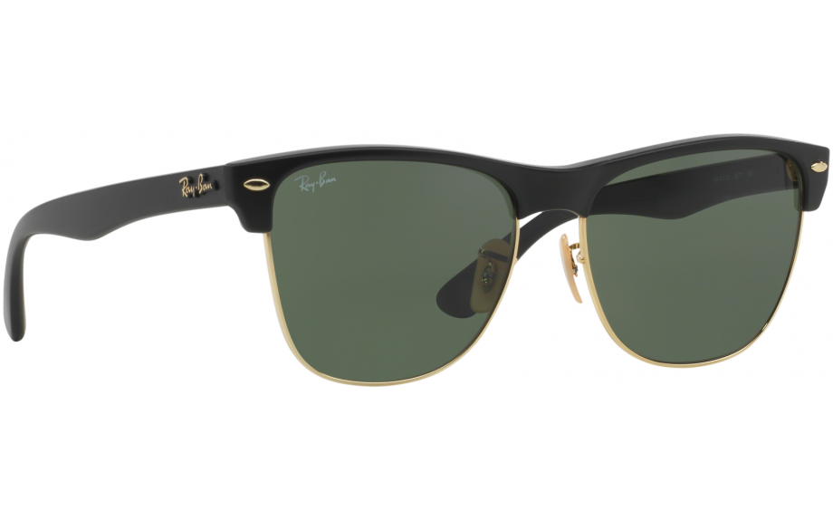286cd19e5af Ray-Ban Clubmaster Oversized RB4175 877 57 Prescription Sunglasses ...