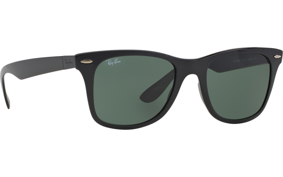 2921de41534 Ray-Ban Wayfarer Liteforce RB4195 601 71 52 Prescription Sunglasses ...