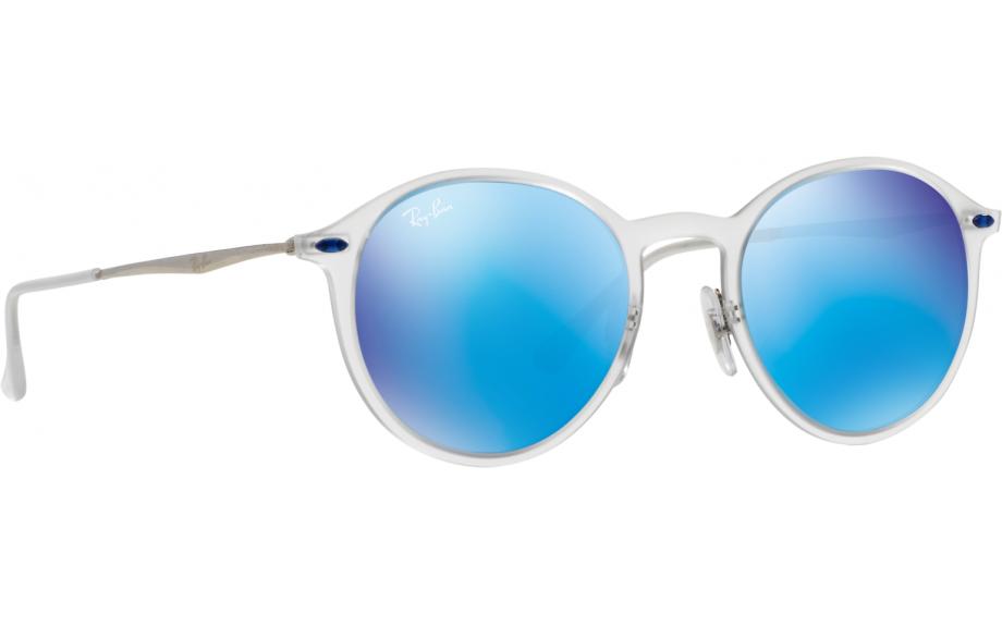 7b06b3bacd4ed Ray-Ban Round Light Ray RB4224 646 55 49 Prescription Sunglasses ...
