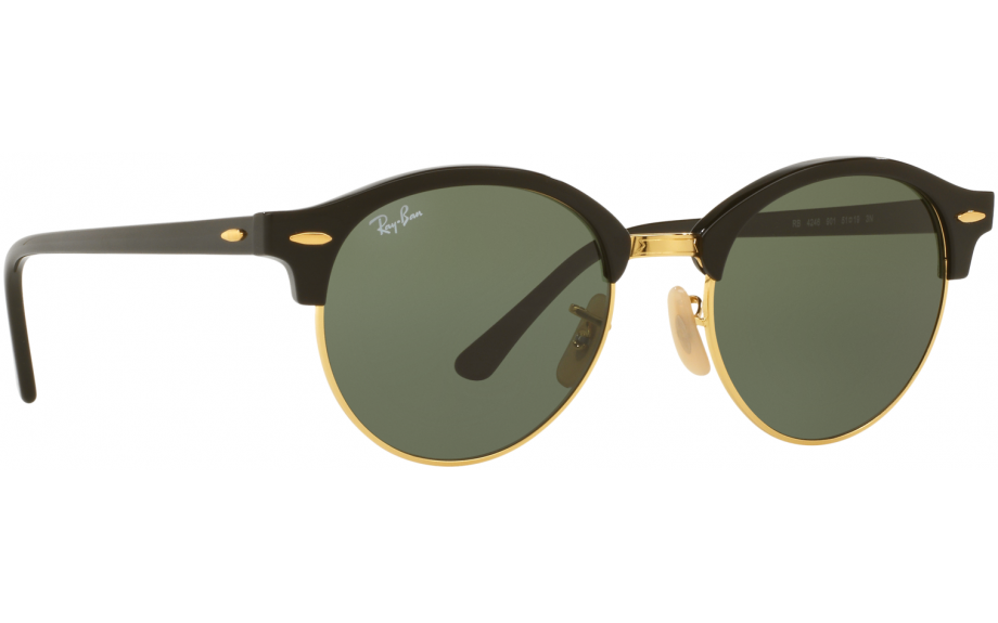 122f928061 Ray-Ban Clubround RB4246 901 51 Sunglasses