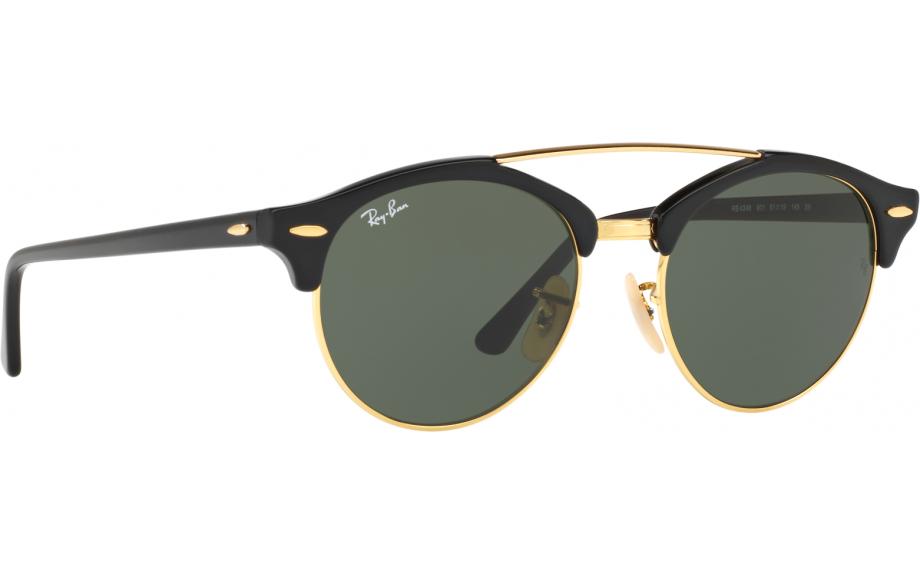 4eb3eb1a9d Ray-Ban Clubround Double Bridge RB4346 901 51 Prescription Sunglasses