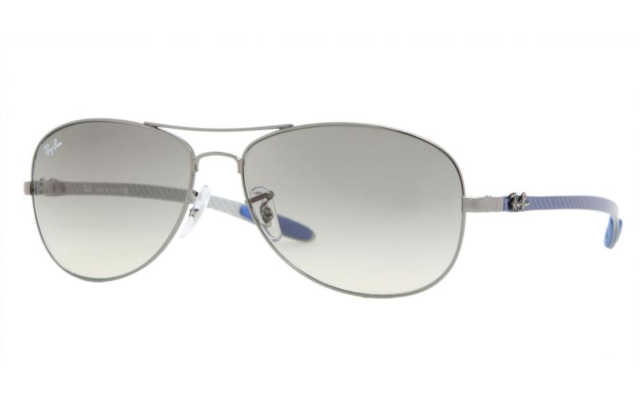 21b34d71654 Ray-Ban Carbon Fibre Tech RB8301 004 32 56 Sunglasses