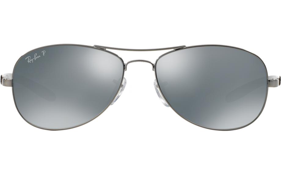 a2f2cb31be6 Ray-Ban Carbon Fibre Tech RB8301 004 K6 59 Prescription Sunglasses ...