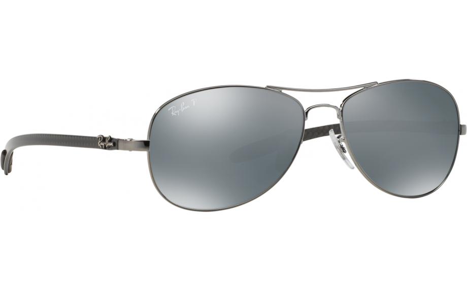 8862c5c128 Ray-Ban Carbon Fibre Tech RB8301 004 K6 59 Prescription Sunglasses ...
