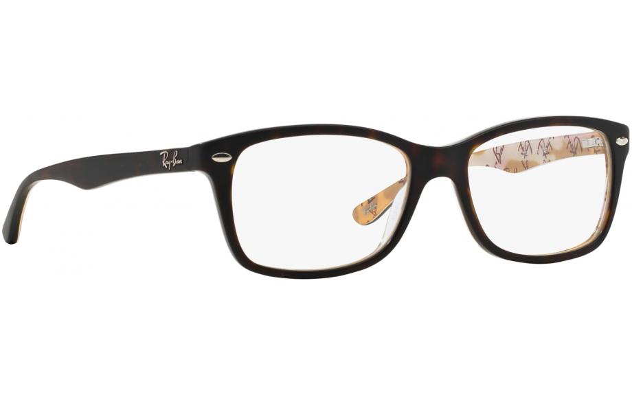 Prescription Glasses Ray Ban Rx5228 : Ray-Ban RX5228 5409 53 Prescription Glasses Shade Station