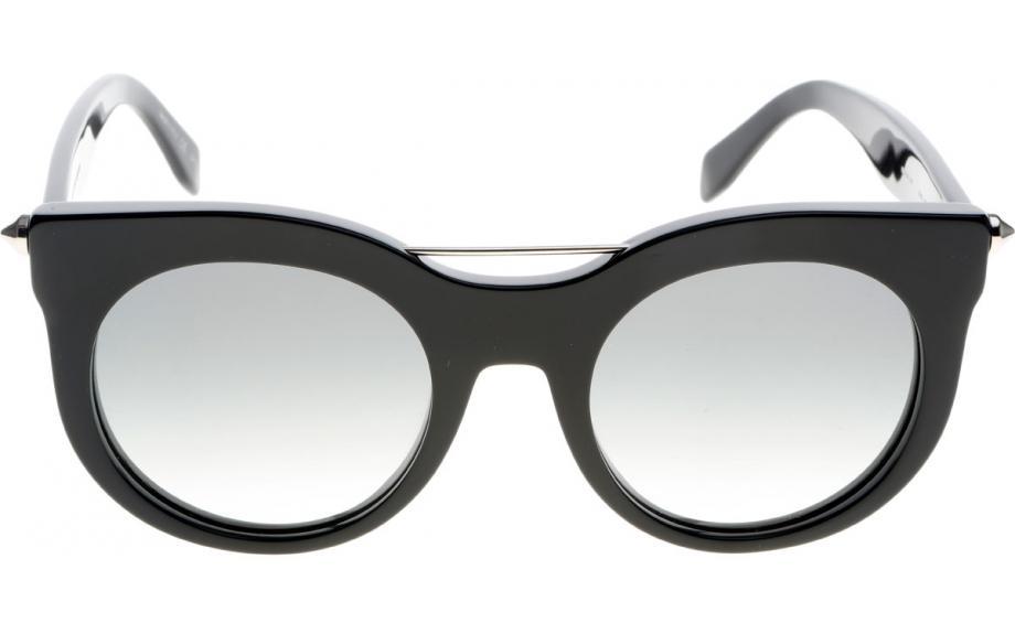 Alexander McQueen AM0001S Sonnenbrille Schwarz 001 52mm lJkR6fErJ