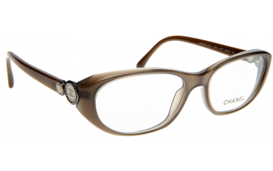 Chanel Prescription Glasses Frame : Chanel CH3203 C677 Prescription Glasses Shade Station