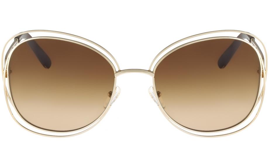 a044ba4055e Chloé Carlina Squared CE119S 786 6018 Sunglasses