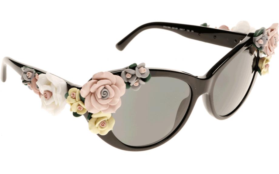 bd1291cc9e3b Dolce & Gabbana DG4180 501/87 59 Sunglasses | Shade Station