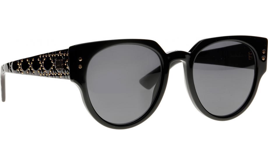 004e569969 Dior LadyDiorStuds3 807 IR 52 Prescription Sunglasses