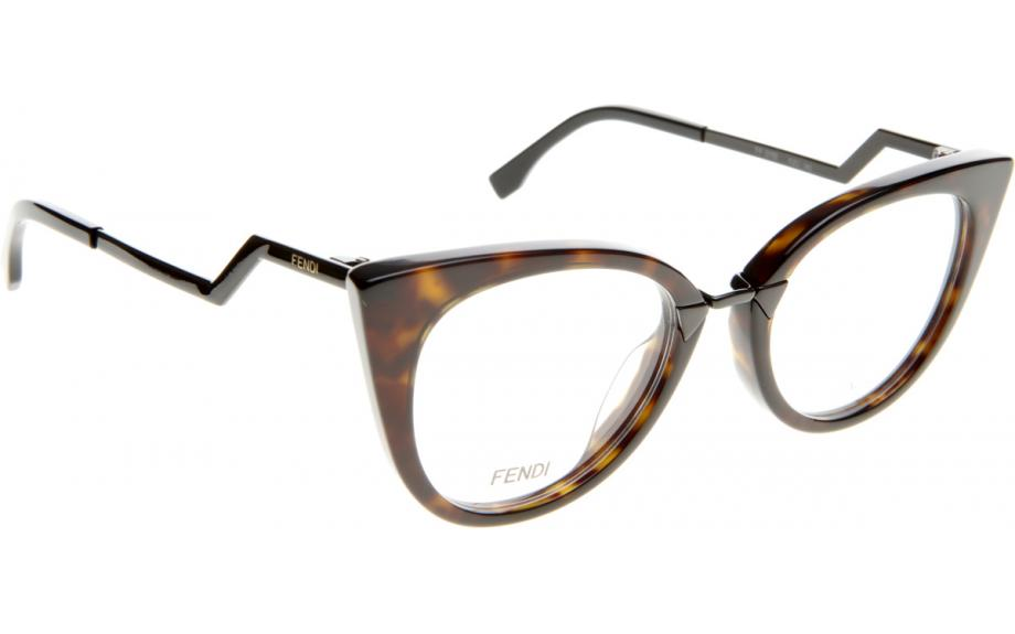 Fendi Orchidea FF0119 RZU 50 Prescription Glasses | Shade Station
