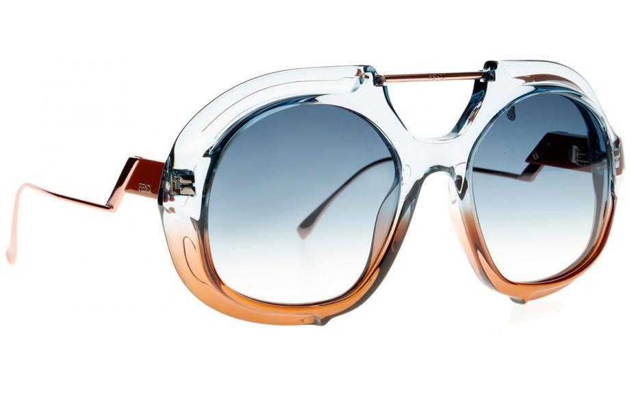83b475e63823c Fendi TROPICAL SHINE FF0316 S S9W 08 55 Sunglasses