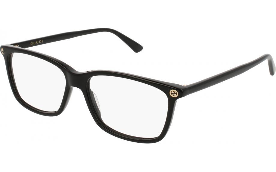 Gucci GG0094O 001 52 Prescription Glasses | Shade Station