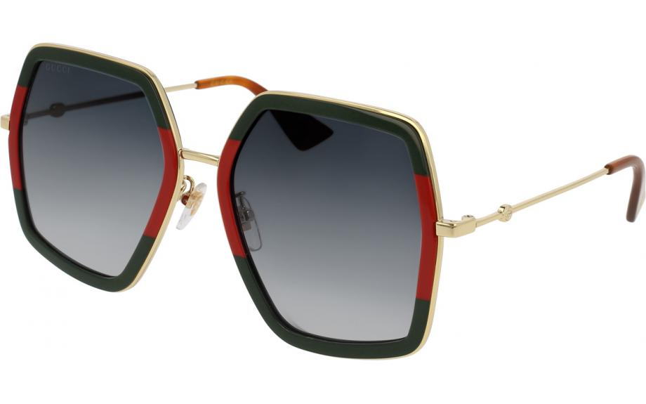 Gucci GG0106S 007 56 Sunglasses | Shade Station