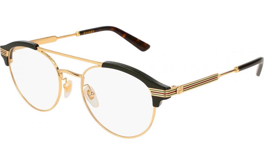 Gucci GG0289O 001 51 Prescription Glasses | Shade Station