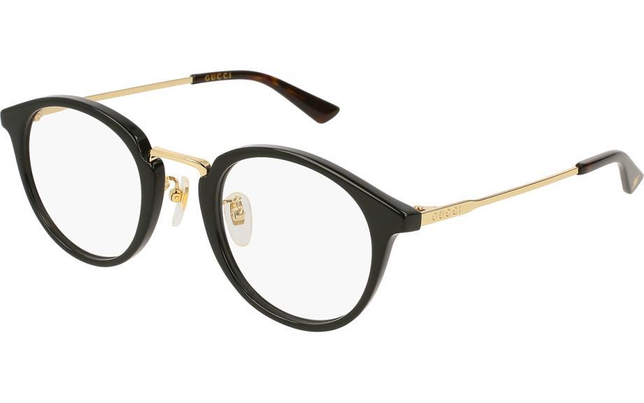 f02baeb0602 Gucci GG0322O 001 49 Prescription Glasses
