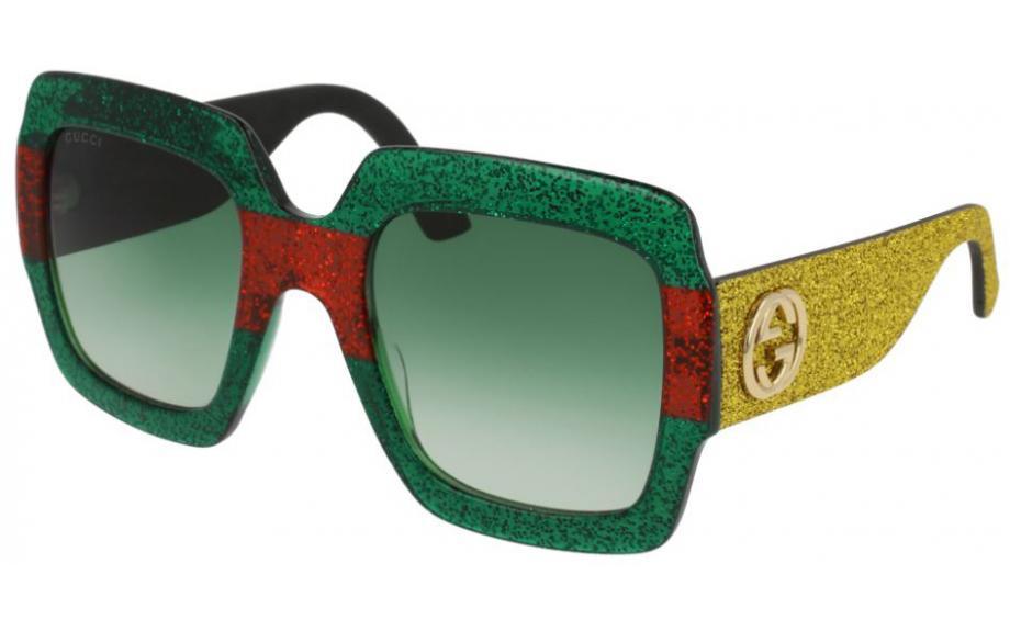 9df7de52715 Gucci GG0102S 006 54 Prescription Sunglasses