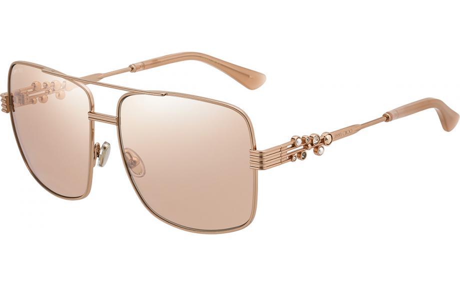 03fffd75c058e Jimmy Choo TONIA S BKU 2S 61 Sunglasses