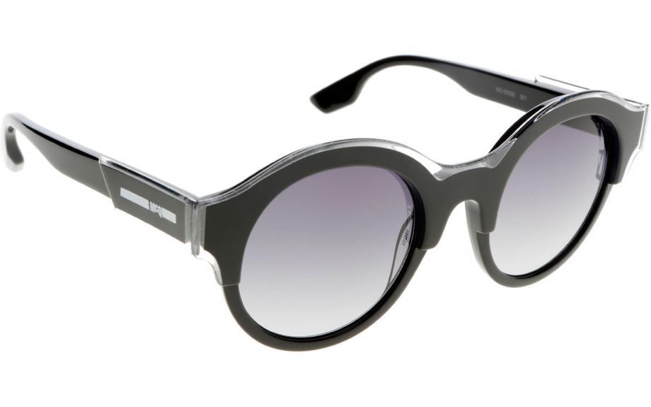 5b9efe6649f McQ by Alexander McQueen MQ0003S 001 49 Prescription Sunglasses ...