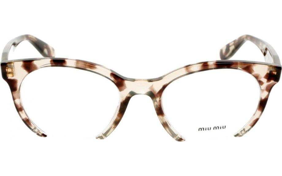 miu miu mu 09nv uaf101 50 prescription glasses shade station