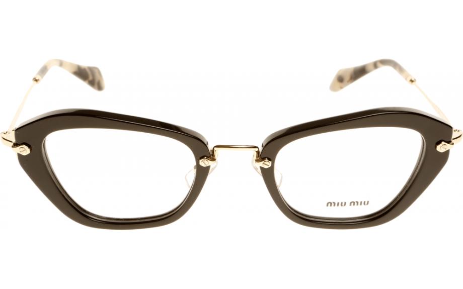 ba723f70c209 Miu Miu MU 05NV 1AB101 50 Prescription Glasses