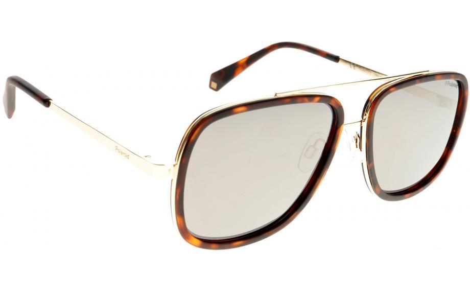 Polaroid Sonnenbrille » PLD 6033/S«, braun, 086/LM - braun/ gold