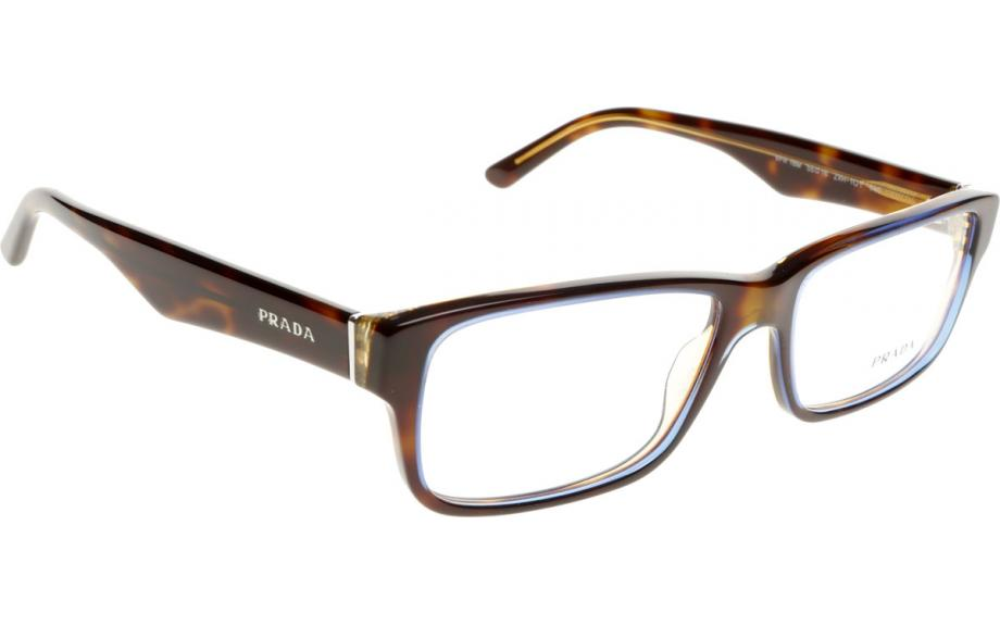 Prada Red Frame Glasses : Prada PR16MV ZXH101 55 Prescription Glasses Shade Station