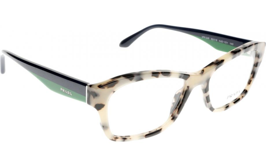 prada voice pr24rv kad101 54 prescription glasses shade