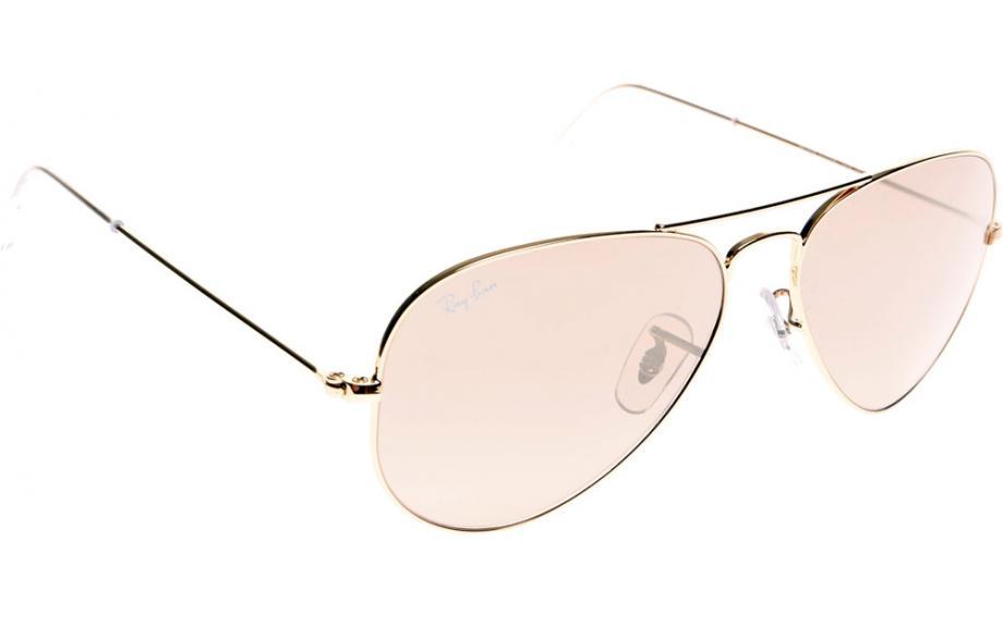 55be854a3cc Ray-Ban Aviator RB3025 001 3E 58 Sunglasses