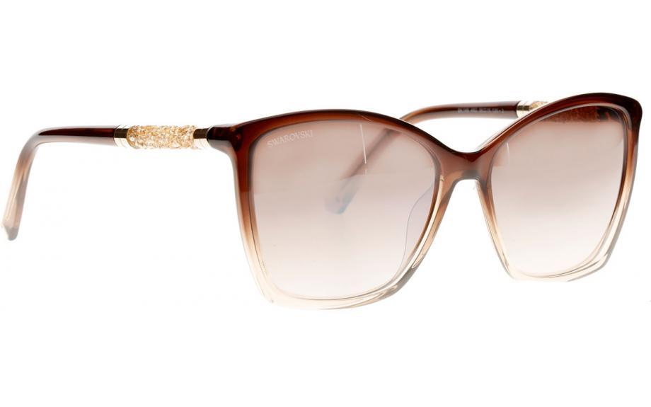 Swarovski Damen Sonnenbrille » SK0148«, braun, 48G - braun/braun