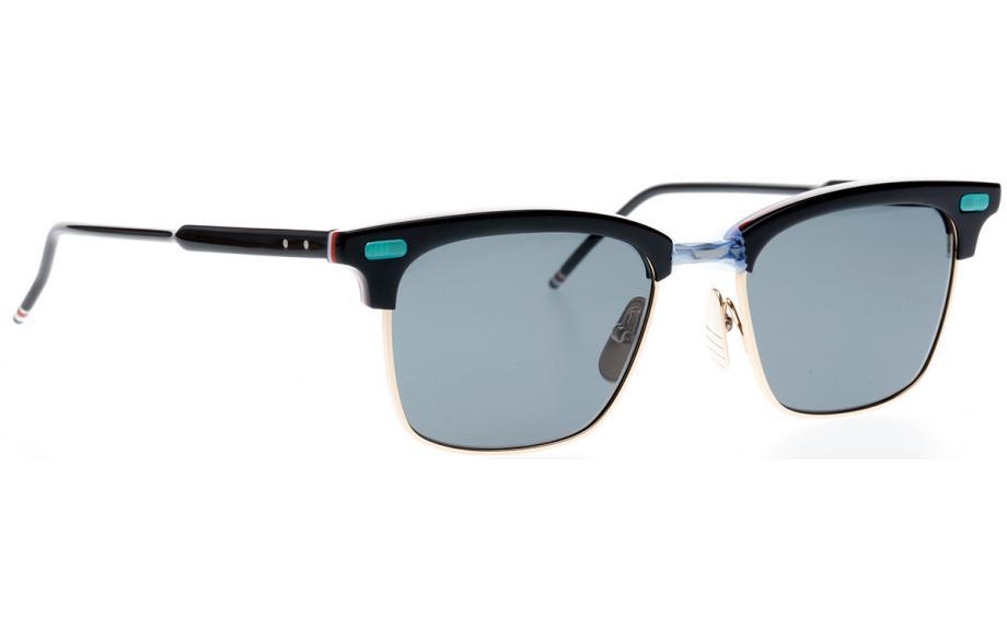 dfe0f7190f84 Thom Browne TB-711-B-T-BLK-SLV-52 Sunglasses