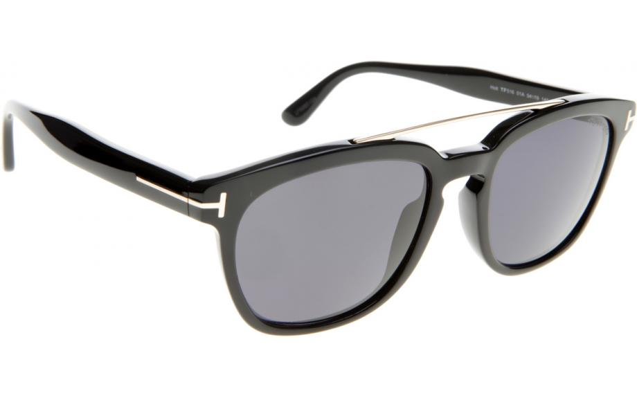 c719b9fd1a0 In Stock. Frame  Shiny black. Lens  Smoke. Tom Ford Holt