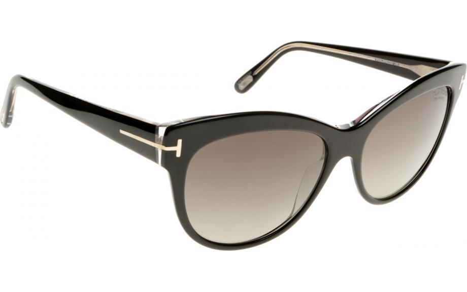 Sunglasses Polarized FT0430_05D (56 mm) Black, 56 Tom Ford