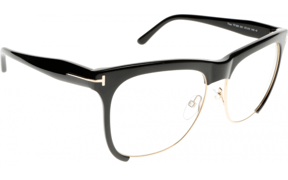 388f2ad35d9f Picture Source · Tom Ford Thea FT0366 001 57 Prescription Glasses Shade  Station