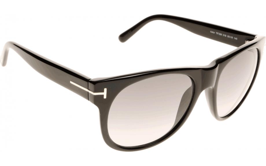 7df1862c172 Tom Ford Astor FT0299 01B 55 Prescription Sunglasses