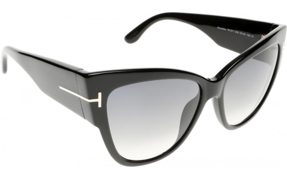 1905c0426037 Tom Ford Anoushka FT0371 01B 57 Sunglasses