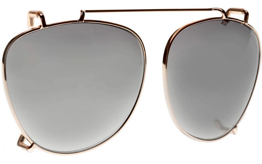 1b65975b2c Tom Ford Clip On FT5513-CL S 28B Prescription Glasses