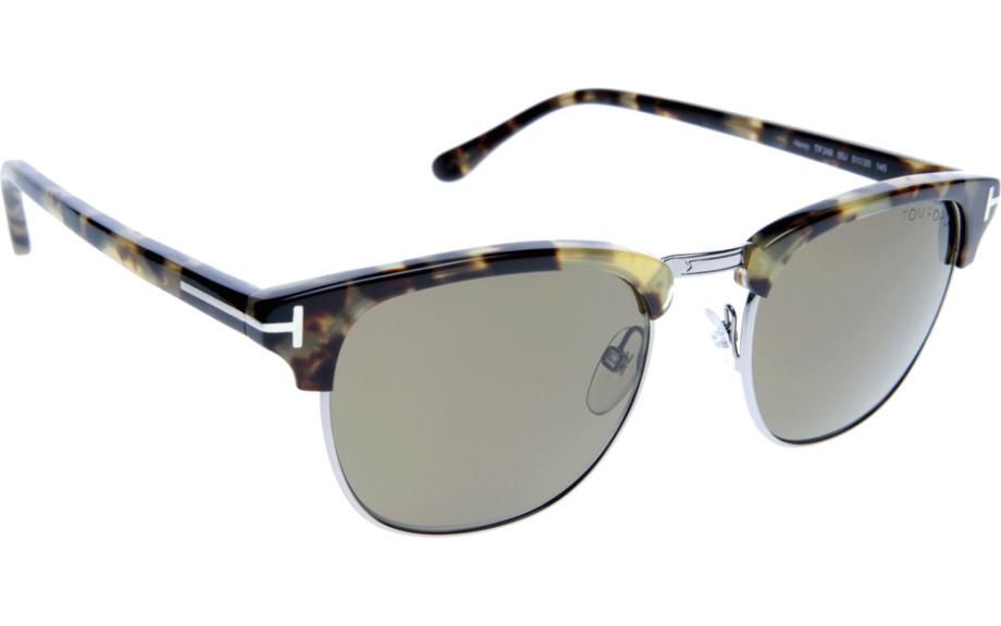 tom ford henry ft0248 55j 51 prescription sunglasses. Black Bedroom Furniture Sets. Home Design Ideas