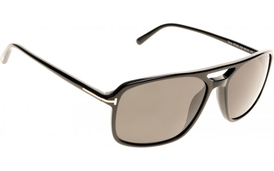 b69f1d22b27 Tom Ford Terry FT0332 01B 58 Sunglasses