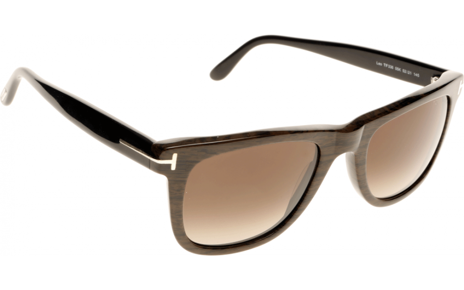 11d9985cb08 Tom Ford Leo FT0336 05K 52 Sunglasses