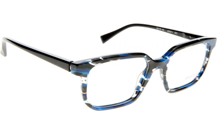 93a52d2d343 Alain Mikli A03074 002 53 Prescription Glasses