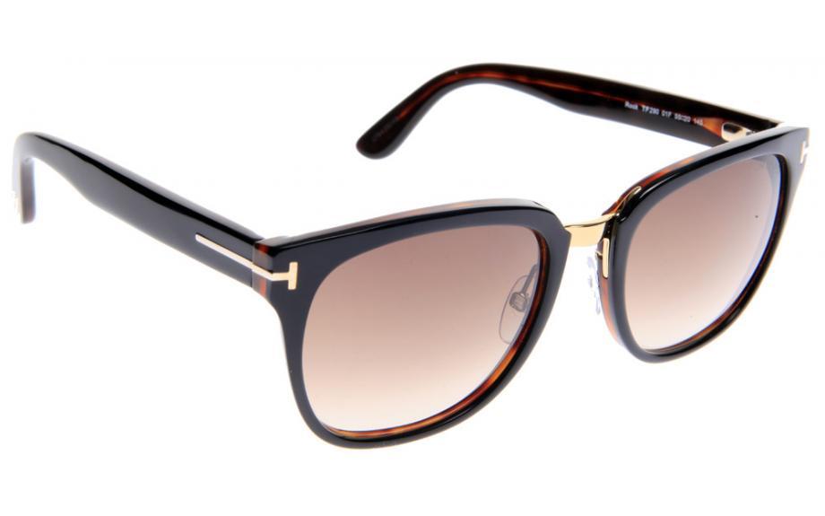 Tom Ford Rock FT0290 01F 55 Prescription Sunglasses | Shade Station