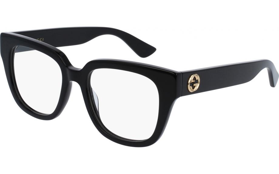 Gucci GG0037O 001 50 Prescription Glasses | Shade Station