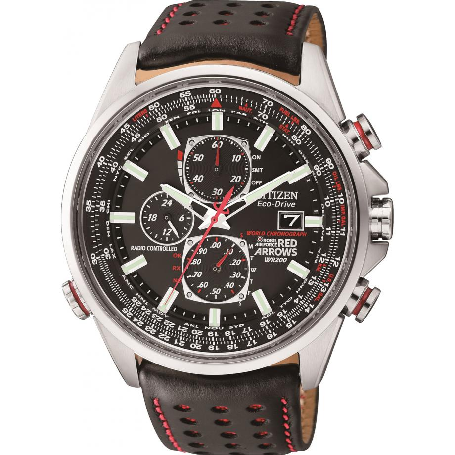 buy popular fc096 a1f12 Citizen Eco Drive Red Arrows A.T D9 Chronograph AT8060-09E Watch