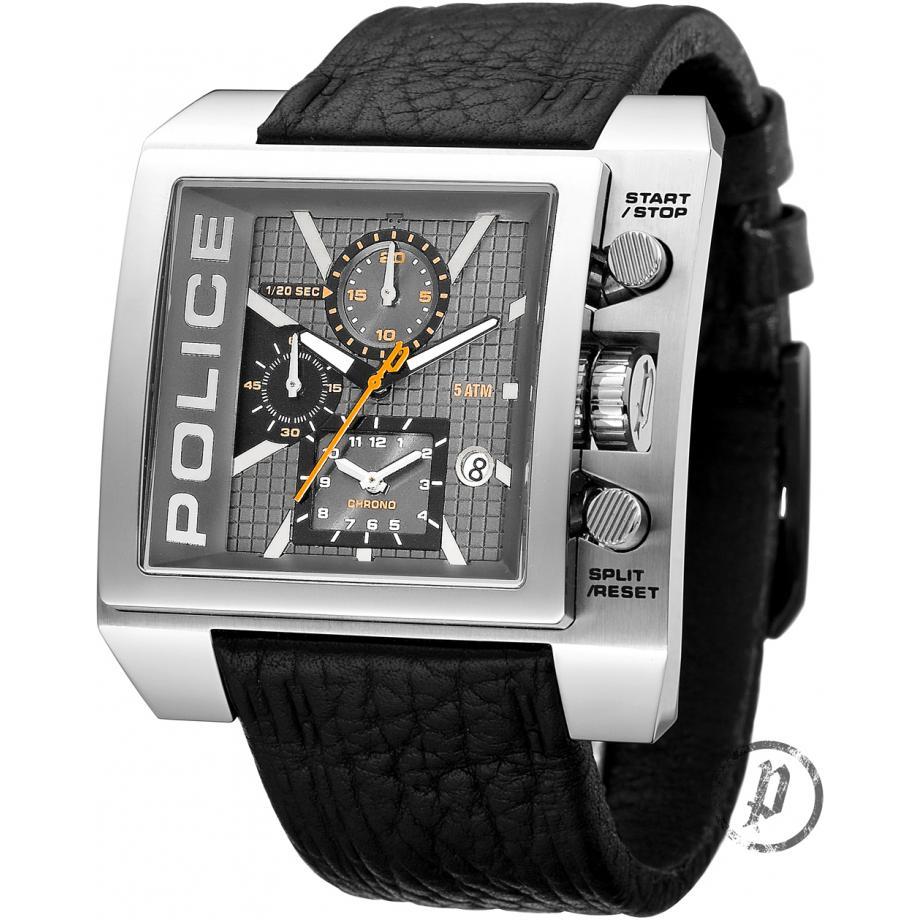 police nitro 12175js 61 watch shade station police nitro watch