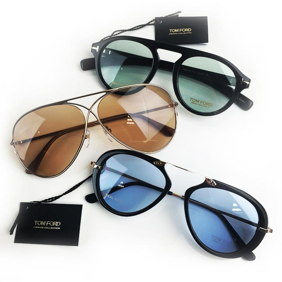7edf20a5e327 Tom Ford Private Collection Sunglasses The luxurious finish of Tom Ford  Private Collection sunglasses are a result of real horn material.